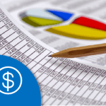 graphs and financial data